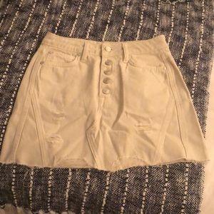 Free people beige skirt
